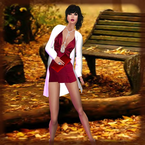 AsHmOoT_AW Coll_Samira 02_Minidress_Burgundy by Orelana resident