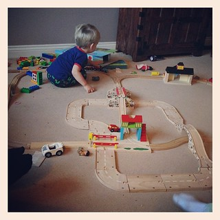 Road and rail is very cool. @bigjigstoys
