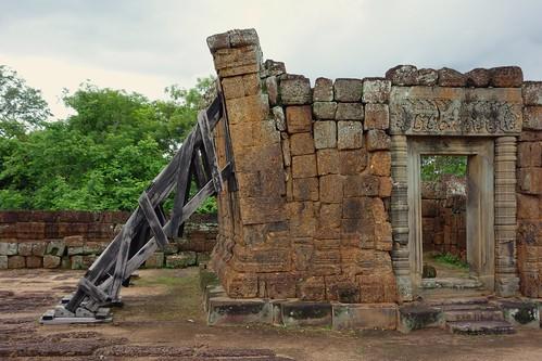 Angkor restauration