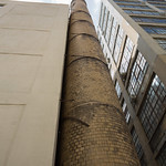 Smoke stack on the highline