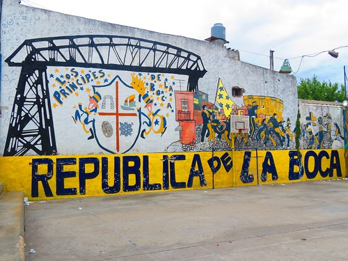 Walking tour of San Telmo and la boca