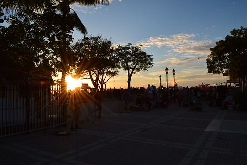 Mallory Square crowd