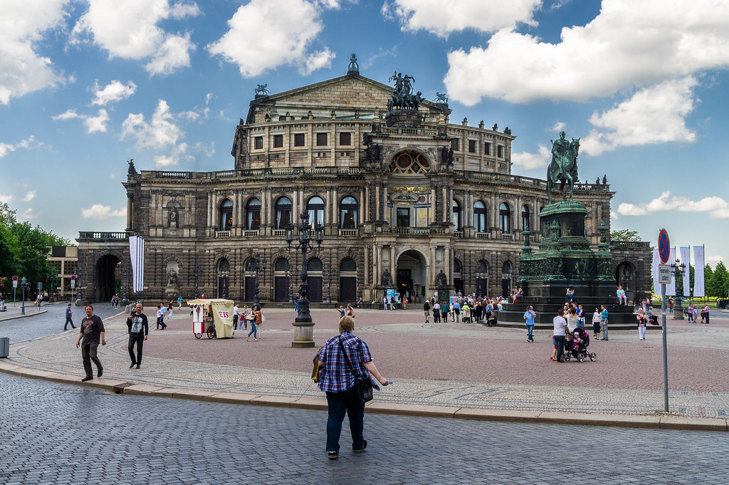 Theaterplatz e Semperoper