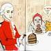 january 27 - Happy Birthday Wolfgang Amadeus Mozart and happy Chocolate Cake Day by agpolaris