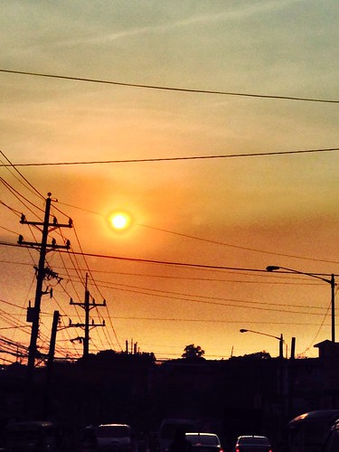 sunset sky sun color colour nature yellow loveit photooftheday urbansetting picofday