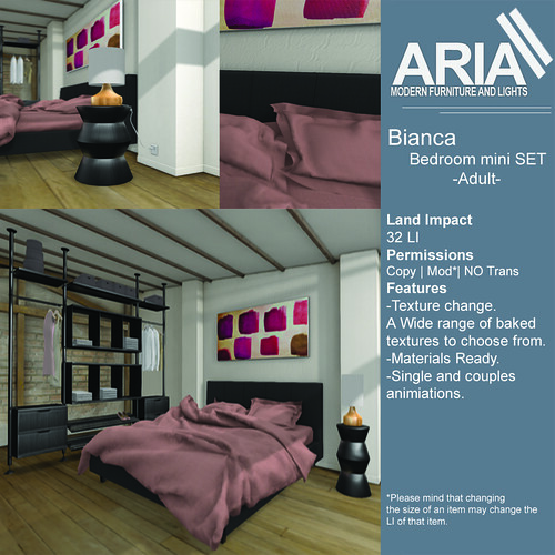 Bianca bedroom adult @FaMESHed