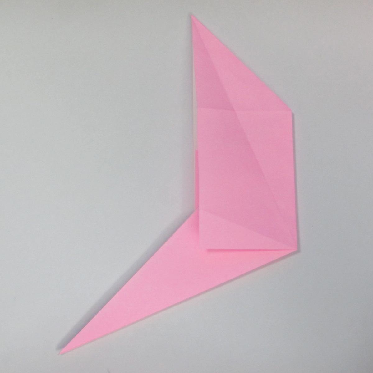 สอนการพับกระดาษเป็นลูกสุนัขชเนาเซอร์ (Origami Schnauzer Puppy) 028
