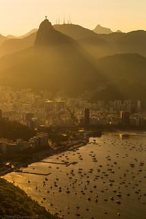 Evening from Rio de Janeiro