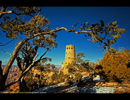 """A View to a Kill"" – Desert View Watchtower, Grand Canyon National Park, Arizona"