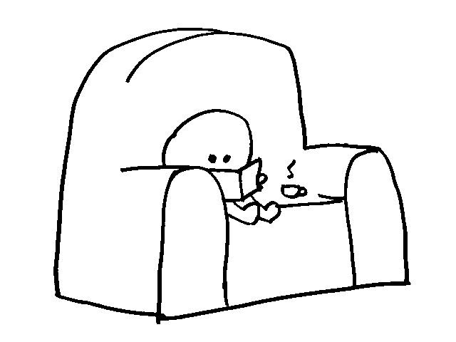 niño leyendo libro en sofá - club de lectura