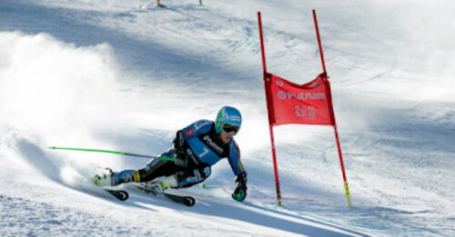 Ted Ligety trains GS