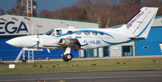 G-HIJK Cessna 421C Golden Eagle