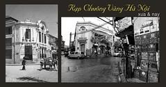 Rạp Chuông Vàng Hà Nội - xưa và nay (địa chỉ: số 72 Phố Hàng Bạc)