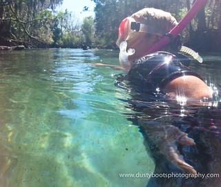 Crystal River SUP'ing & Snorkeling with the Manatees. Sunday March 2nd 2014.