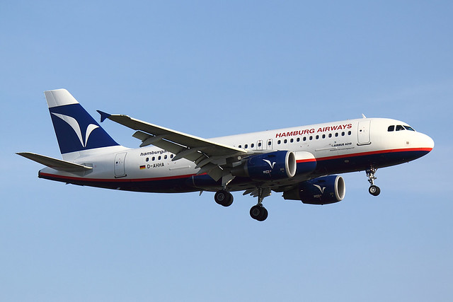 Hamburg Airways  - A319 - D-AHHA (1)