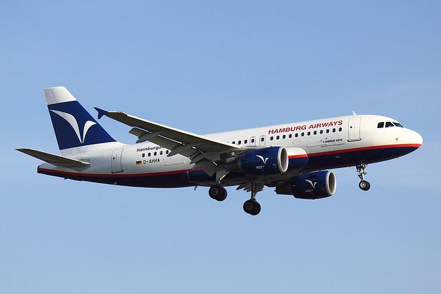 Hamburg Airways  - A319 - D-AHHA (1)