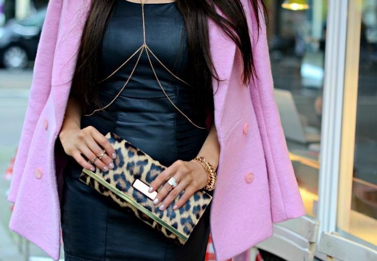 DSC_4672 Pink carven Coat, Leopard River island clutch