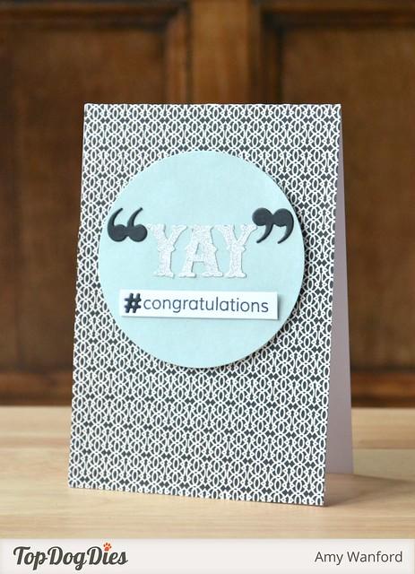 """""""YAY""""  #congratulations"""