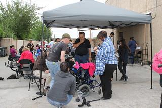 Programa de Donación de Sillas de Ruedas, abril 2014 / Consulmex Del Río, Texas