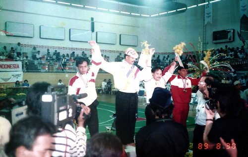 15th SEA Games - Award Ceremony - Silat Open Category