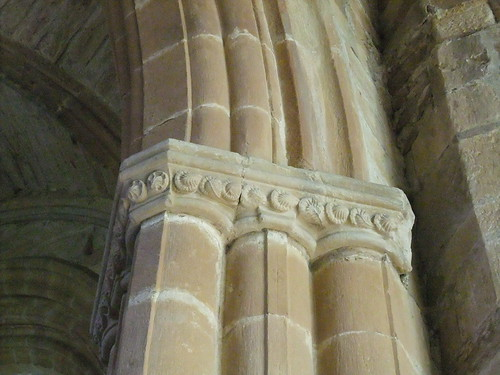 Carvings at Seton Collegiate Church