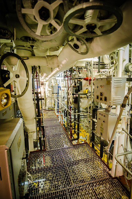 Engine Room 1 USS Turner Joy (DD-951)