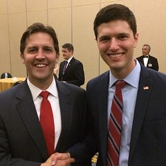 Enjoyed meeting @sasse4senate yesterday evening who will be the next US Senator from Nebraska!