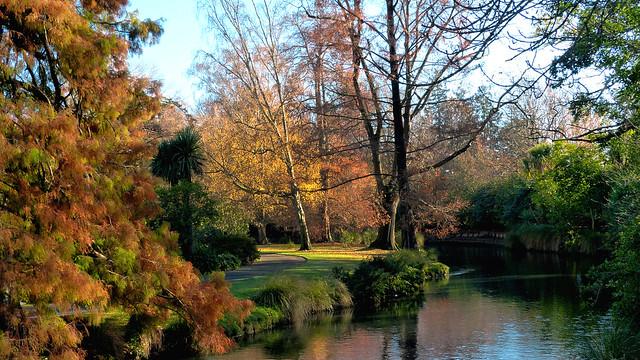 Quitley flows the Avon. Christchurch.