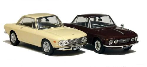 16 Norev Lancia Fulvia coupé 1ª & 2ª serie
