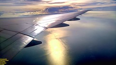 ..over the Malacca strait..