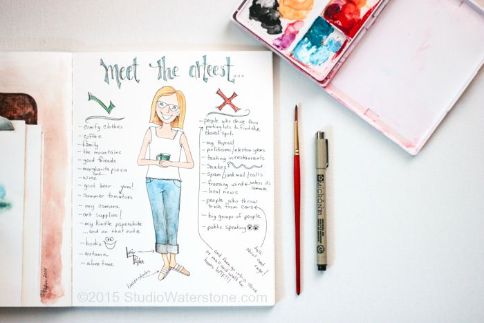 Sketchbookery: Meet the Arteest