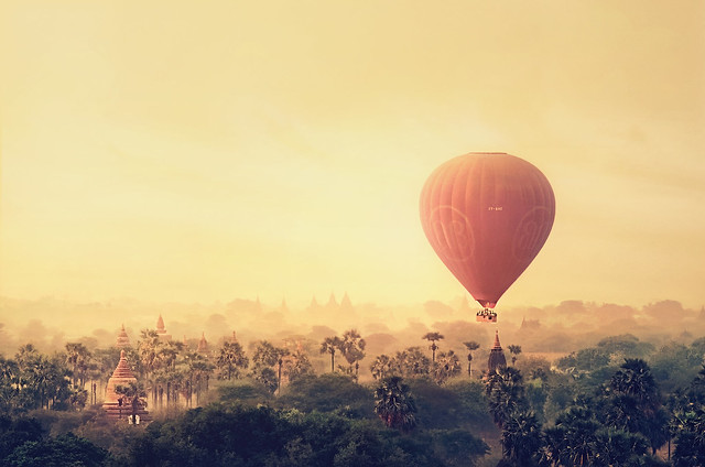 Bagan Balloon Sunrise [ Explore ]