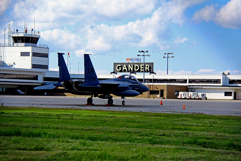 Gander Airport - F-15