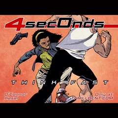 Announcing our new original comics story -- 4 Seconds -- today at www.LongboxGraveyard.com! #comics