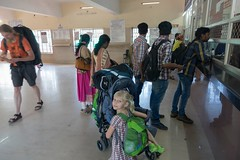 Kasa biletowa na dworcu w Karwar