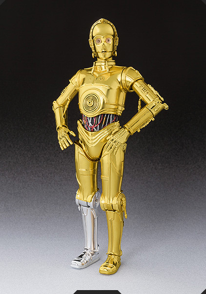 S.H.Figuarts【C-3PO】星際大戰四部曲:曙光乍現 A New Hope