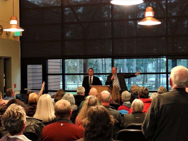 35th LD Town Hall at Olympic College Shelton
