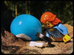 Paleontology at the Easter egg hunt.