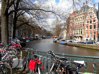 Spring afternoon in Amsterdam
