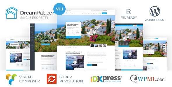 DreamPalace WordPress Theme free download