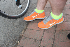 Orange Nikes