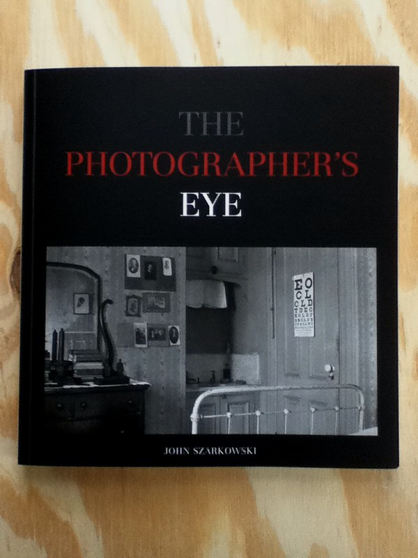 "cover of ""The Photographer's Eye"" by John Szarkowski"