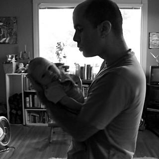 Aidan with Ira
