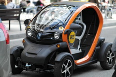 Electric car, Barcelona, Spain
