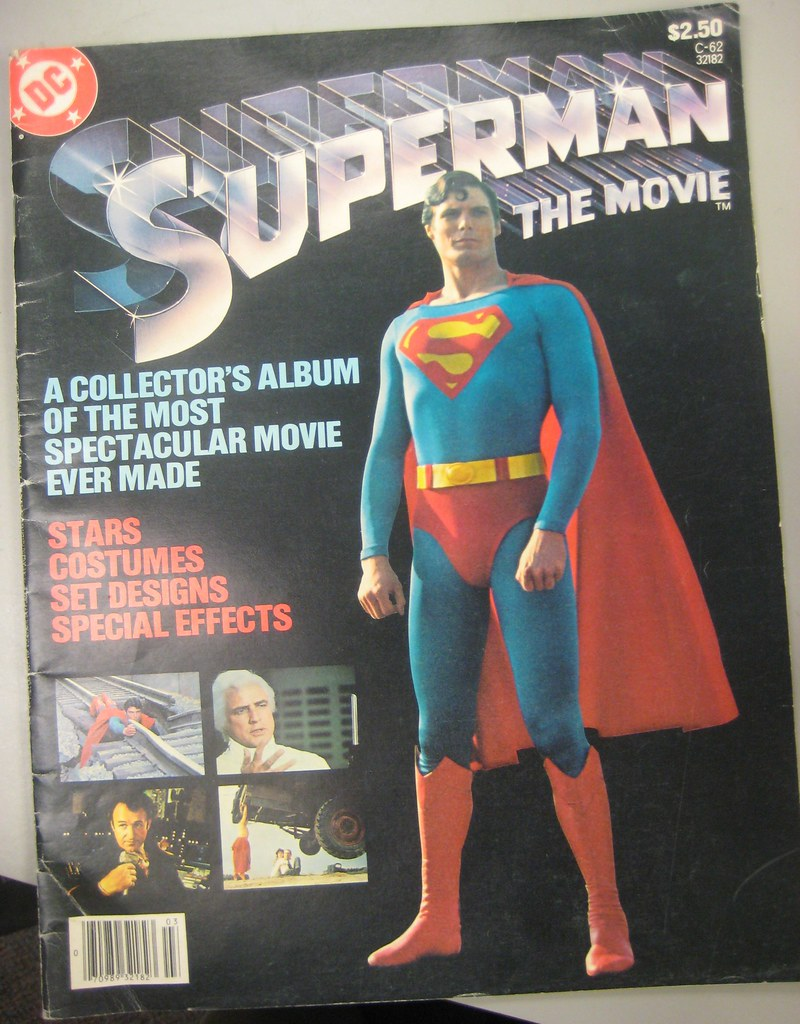 Superman the Movie magazine cover