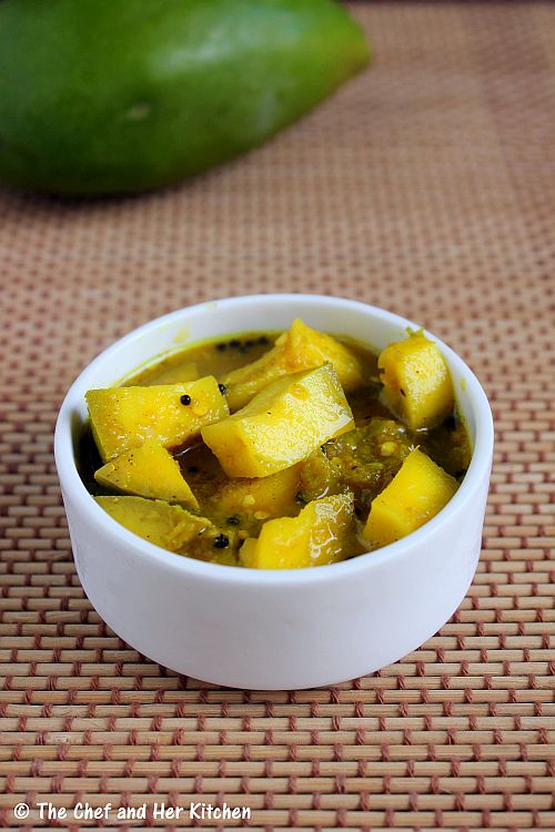 easy mango pickle