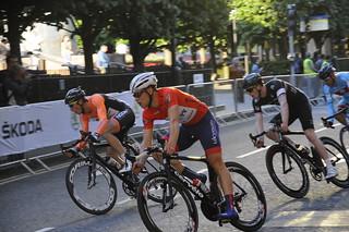 Canary Wharf Bike Race