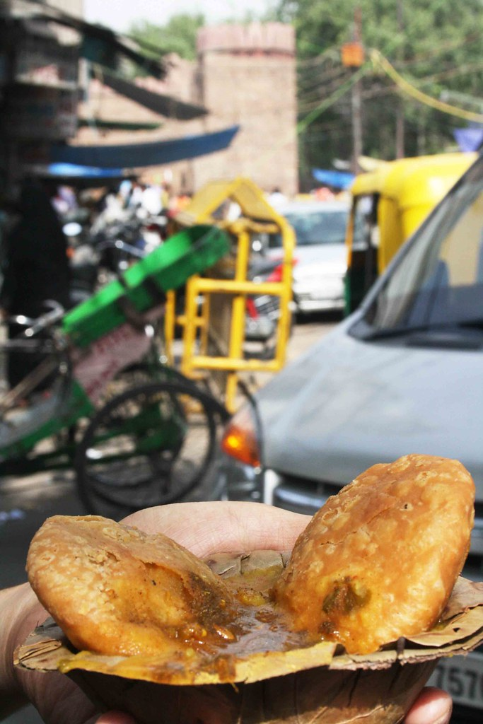 City Food – Kachori, Around Town
