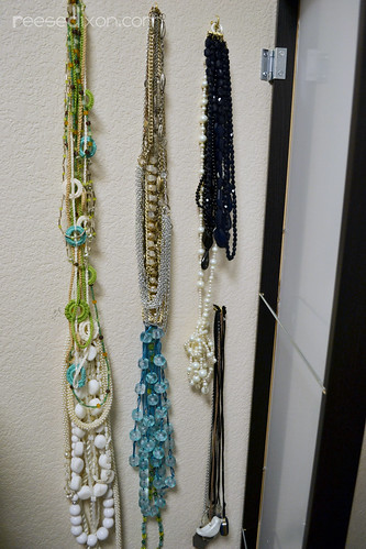 Mirror Jewelry Organizer Step 4