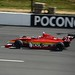 Carlos Munoz on track at Pocono Raceway
